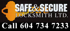 Safe and Secure Locksmith Ltd